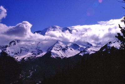 Le Mount Rainer vu du Sunrise Point. Photo © André M. Winter