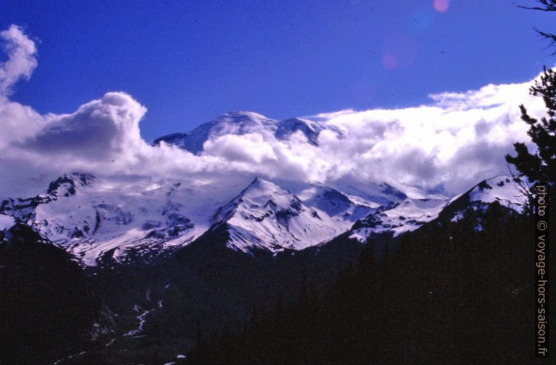 Le Mount Rainer vu du Sunrise Point. Photo © André M. Winter