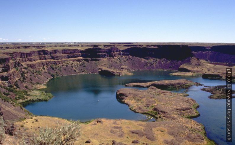 Dry Falls National Monument. Photo © André M. Winter