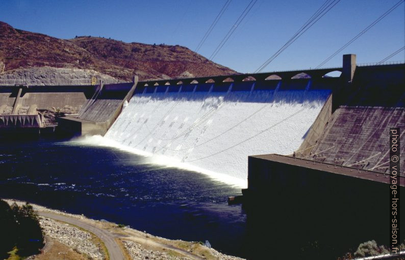 Le barrage Grand Coulee Dam. Photo © André M. Winter