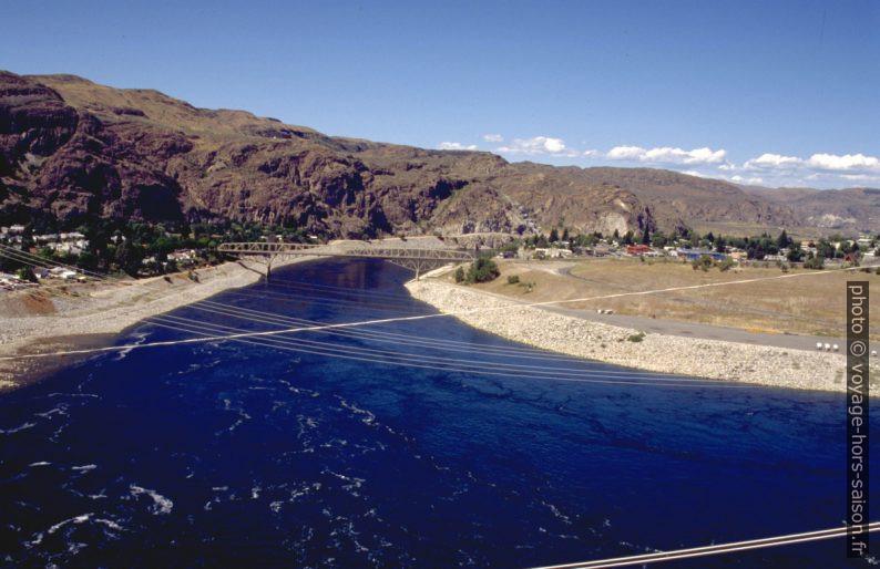 Vue du barrage Grand Coulée Dam. Photo © André M. Winter