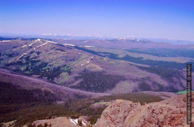 Vue du Mount Washburn vers l'ouest. Photo © André M. Winter