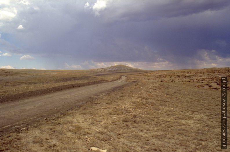 Partie sud de la Cotton Wood Canyon Road. Photo © André M. Winter