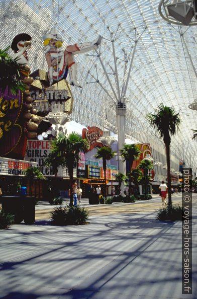 La Freemont Street couverte à Las Vegas. Photo © André M. Winter