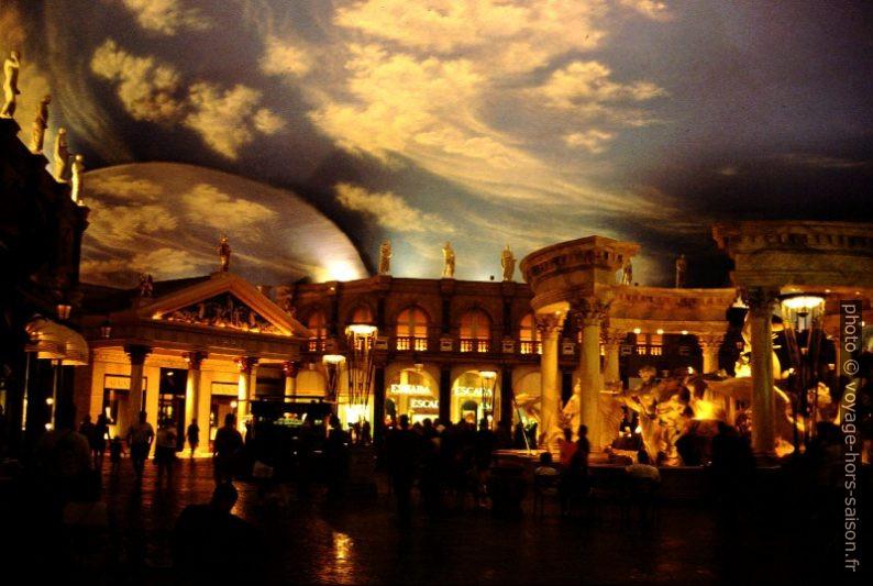 Reconstruction de Rome dans le Caesar's Palace. Photo © André M. Winter