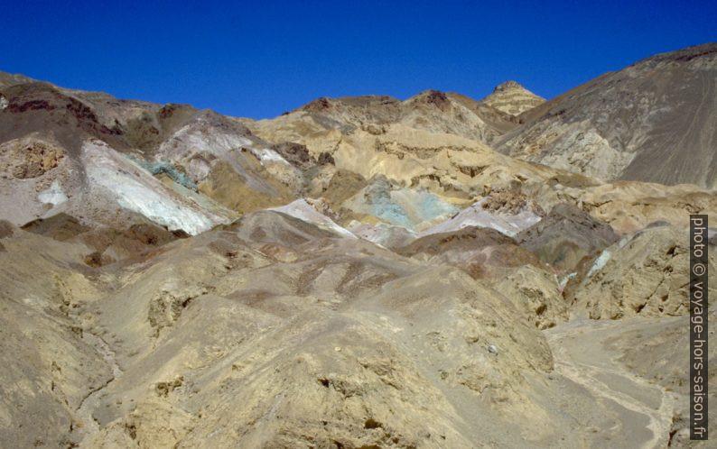 L'Artist's Palette au Death Valley. Photo © André M. Winter