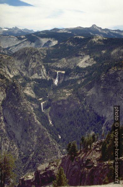 Nevada Falls et Vernal Falls sur le Merced River. Photo © André M. Winter
