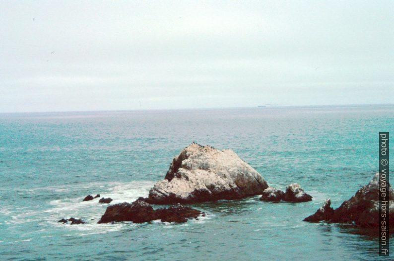 Les Seal Rocks au large de San Francisco. Photo © André M. Winter