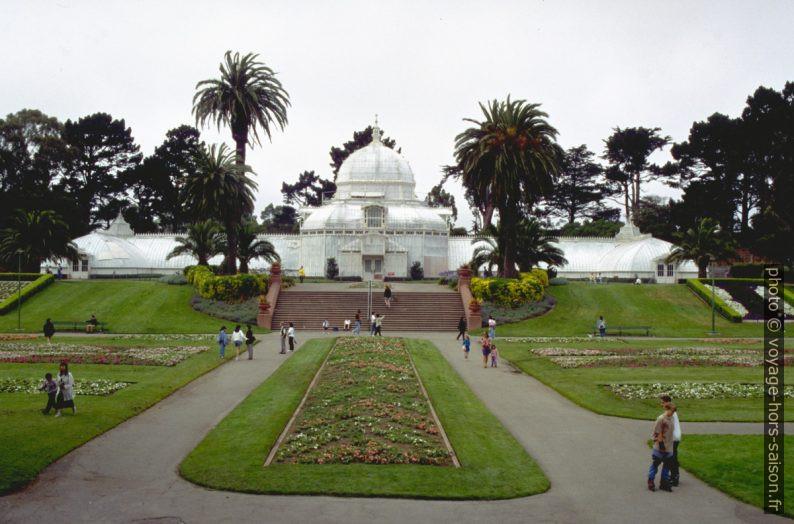 La serre dans le Golden Gate Park. Photo © André M. Winter