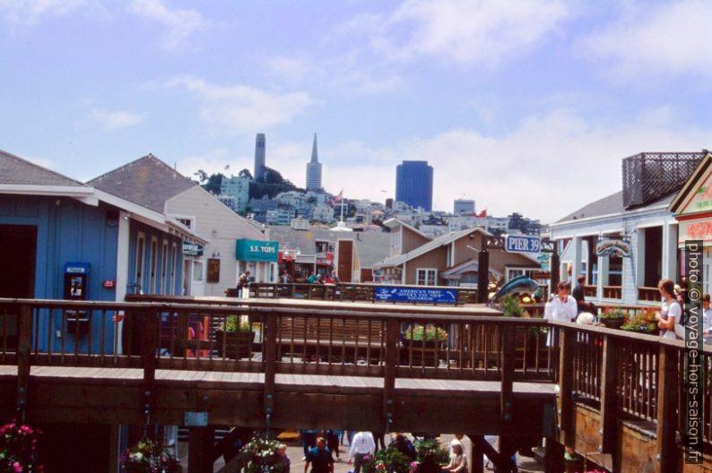 Sur le Pier 39 à San Francisco. Photo © André M. Winter