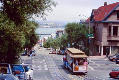 Un Cable Car à San Francisco. Photo © André M. Winter