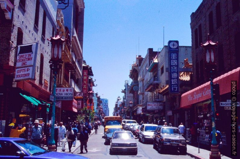 La Chinatown de San Francisco. Photo © André M. Winter