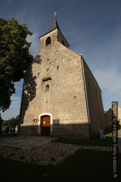 L'église Propsteikirche à Zwettl. Photo © André M. Winter