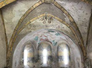 La nef de la chapelle Michaelskapelle à Zwettl. Photo © Alex Medwedeff