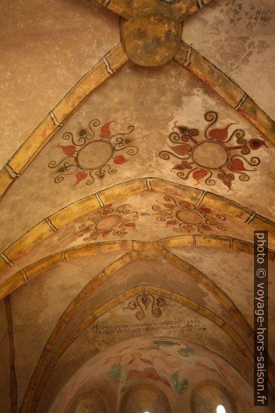 Fresques des voûtes de la chapelle Michaelskapelle à Zwettl. Photo © André M. Winter