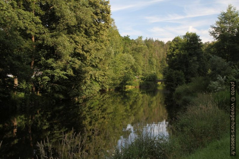 La rivière Kamp à Zwettl. Photo © Alex Medwedeff
