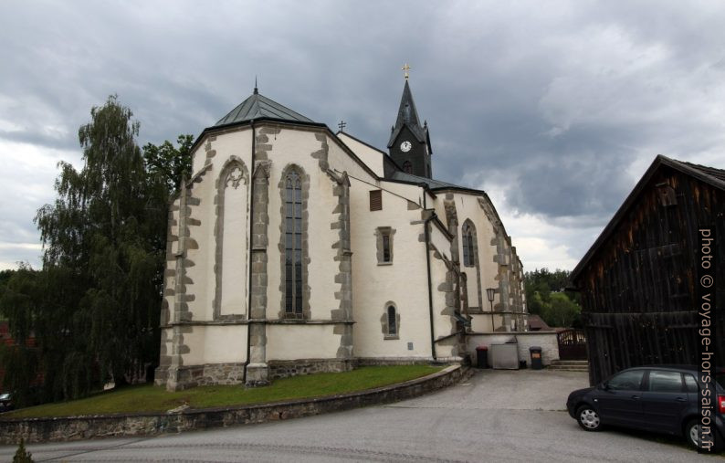 L'église-halle St. Wolfgang bei Weitra. Photo © André M. Winter