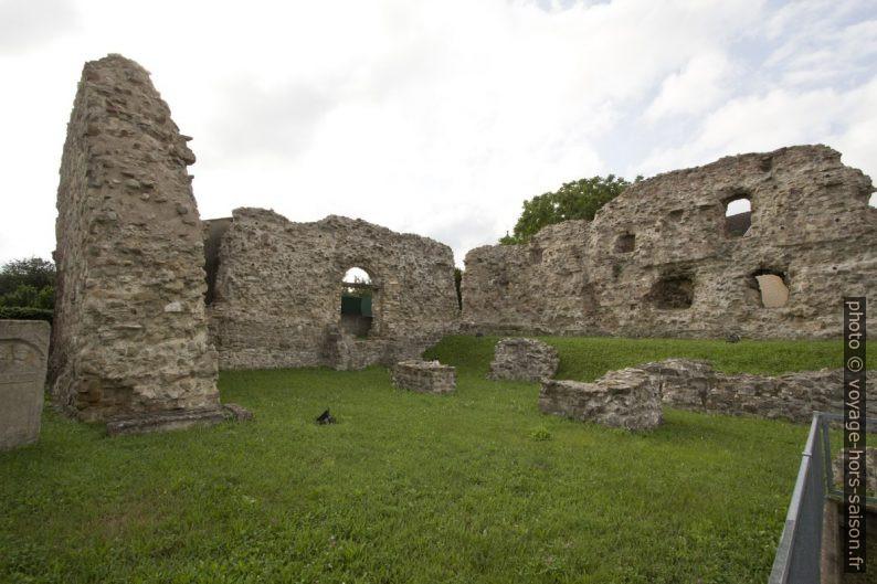 Fort romain tardif de Cannabiaca à Zeiselmauer. Photo © André M. Winter