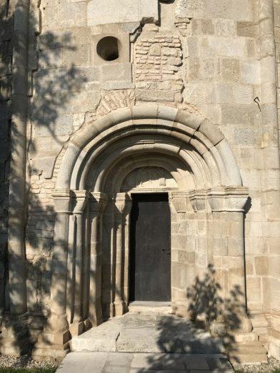 Face nord de la chapelle ronde Jean le Baptiste à Petronell. Photo © Alex Medwedeff