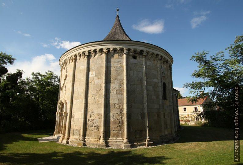 La chapelle ronde Jean le Baptiste à Petronell. Photo © André M. Winter