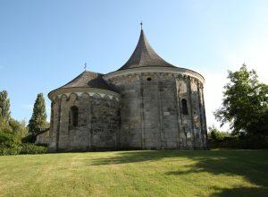Face nord de la chapelle ronde Jean le Baptiste à Petronell. Photo © André M. Winter