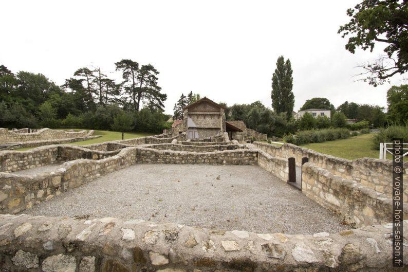 La maison Domus Quarta ià Carnuntum. Photo © André M. Winter