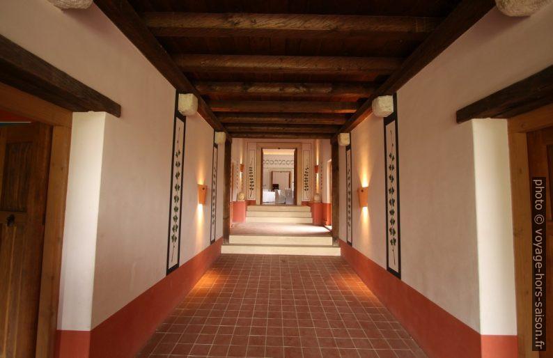 Couloir principal des petites thermes de Carnuntum. Photo © André M. Winter