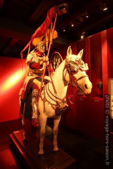 Chevalier d'une légion romaine. Photo © André M. Winter