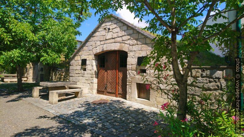 Une cave à vin à Purbach. Photo © André M. Winter