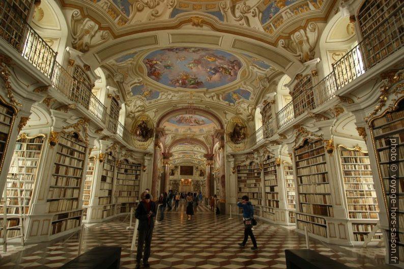 La bibliothèque d'Admont. Photo © André M. Winter