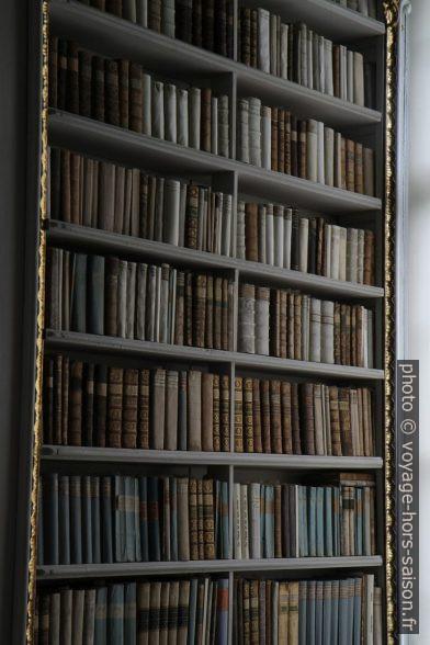 Des livres anciens dans la bibliothèque d'Admont. Photo © Alex Medwedeff