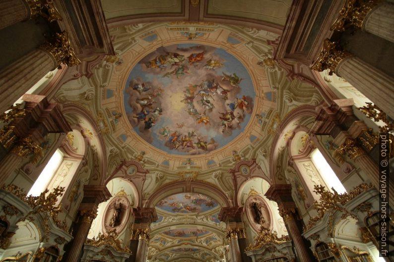 Plafond baroque de la bibliothèque d'Admont. Photo © André M. Winter