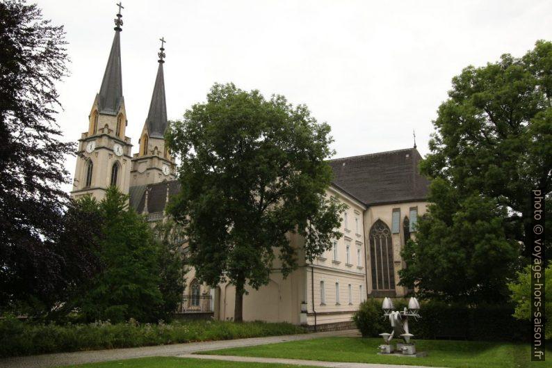 Église néogothique d'Admont. Photo © André M. Winter