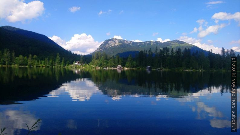 Le lac Ödensee et la montagne Radling au fond. Photo © André M. Winter