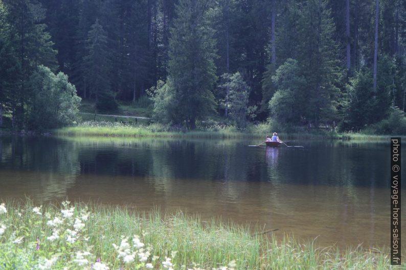 Bateau à rames sur le lac Ödensee. Photo © Alex Medwedeff