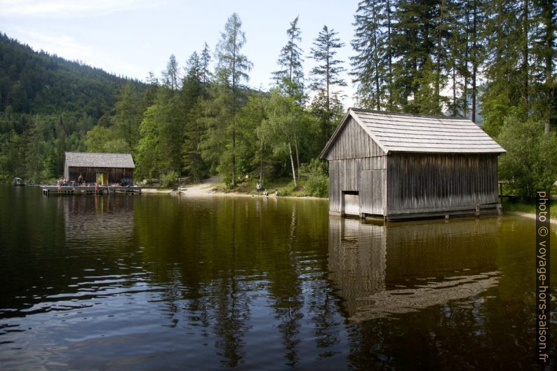 Abris de bateaux du lac Ödensee. Photo © Alex Medwedeff