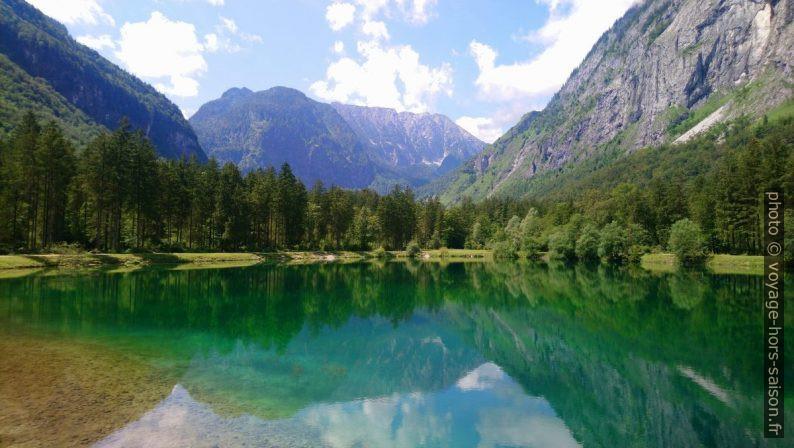 Le lac Bluntausee supérieur. Photo © André M. Winter