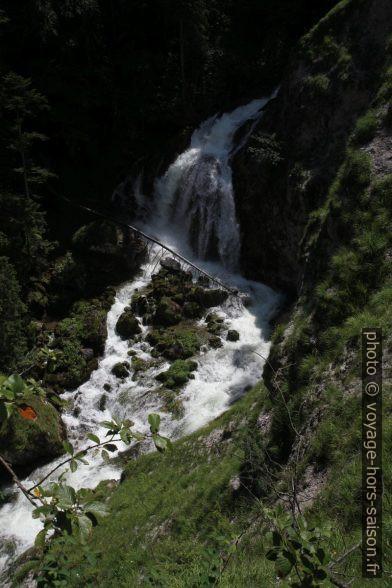 La cascade Bluntau Wasserfall. Photo © Alex Medwedeff
