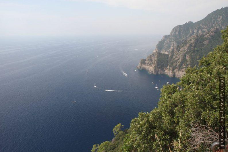 Vue de la Base Zero vers la Punta Torretta. Photo © Alex Medwedeff