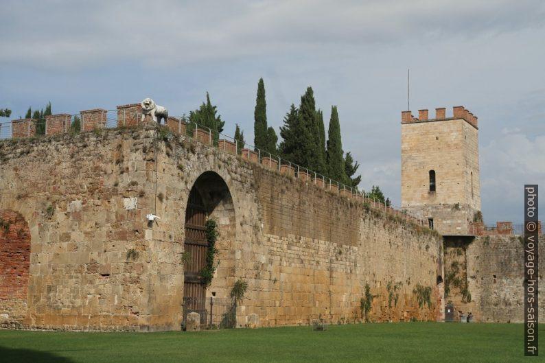 Porta del Leone e la Torre di Santa Maria. Photo © Alex Medwedeff