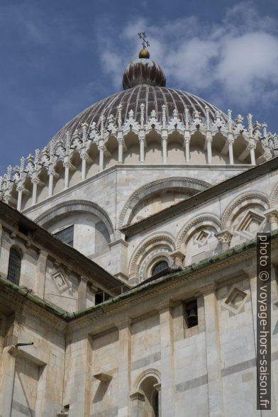 Dôme de la Cathédrale de Pise. Photo © Alex Medwedeff