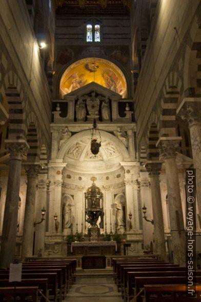 Bras gauche du transept de la cathédrale de Pise. Photo © André M. Winter