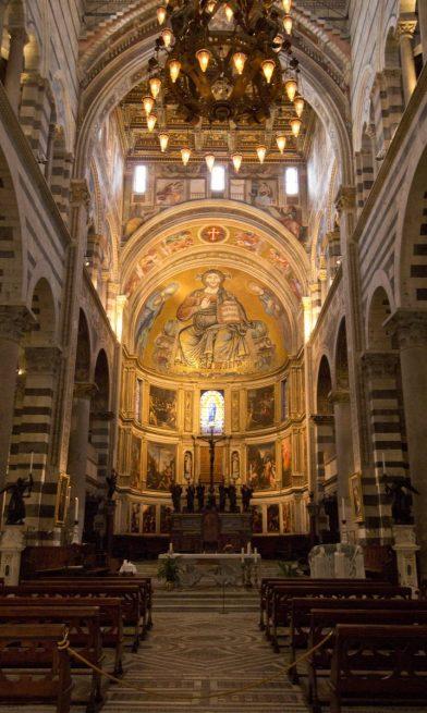 Chœur de la cathédrale de Pise. Photo © André M. Winter