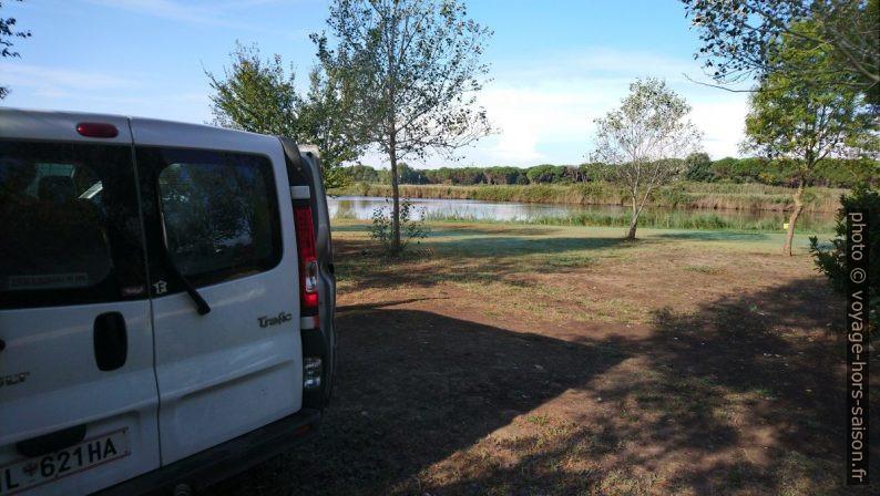 Notre Trafic au Camping Lago Le Tamerici. Photo © André M. Winter