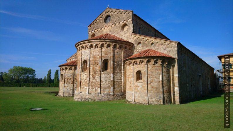L'église de San Piero a Grado. Photo © André M. Winter