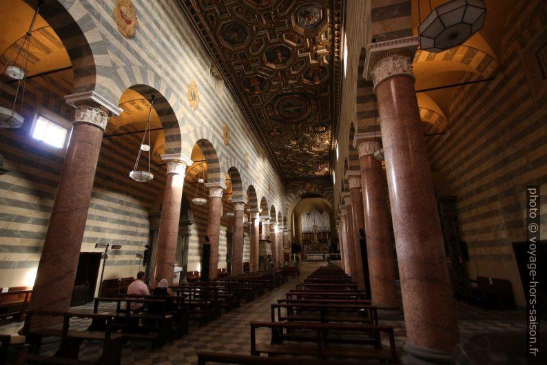 Nef de la Cathédrale Santa Maria Assunta de Volterra. Photo © André M. Winter