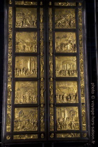 La Porta del Paradiso del battistero di San Giovanni di Firenze. Photo © Alex Medwedeff