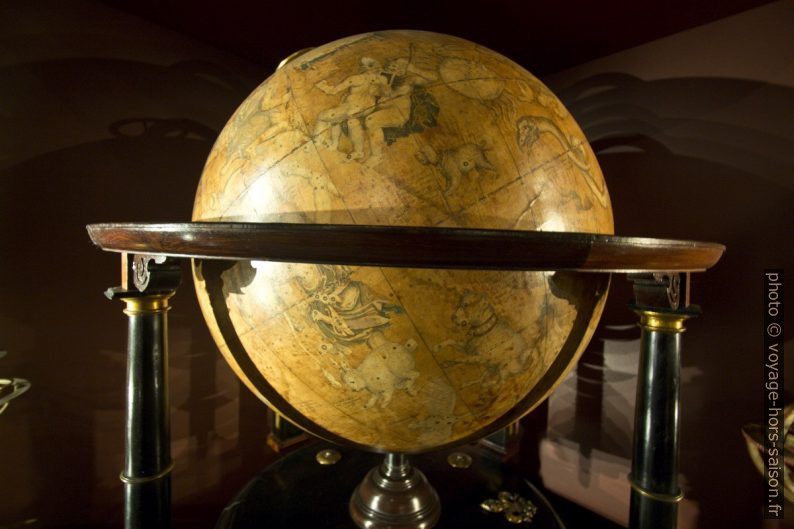 Globe céleste de Willem Janszoon Blaeu, après 1630. Photo © André M. Winter