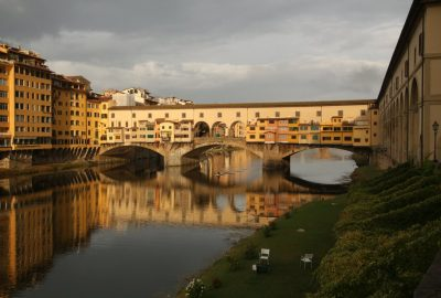 Il Ponte Vecchio di Firenze. Photo © André M. Winter