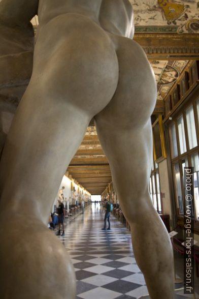 Les fesses d'Hercules, sculpture romaine. Photo © André M. Winter